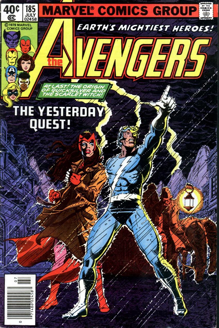 Couverture de Avengers Vol. 1 (Marvel Comics - 1963) -185-