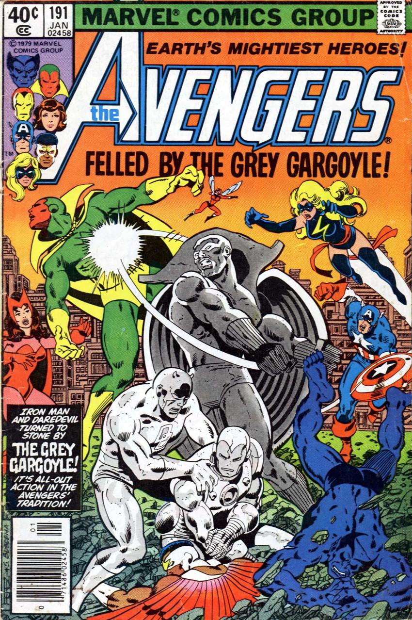 Couverture de Avengers (The) Vol. 1 (Marvel comics - 1963) -191-