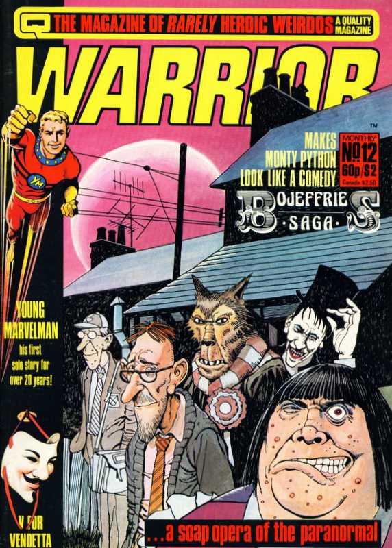 Couverture de Warrior (Quality comics - 1982) -12- Issue # 12