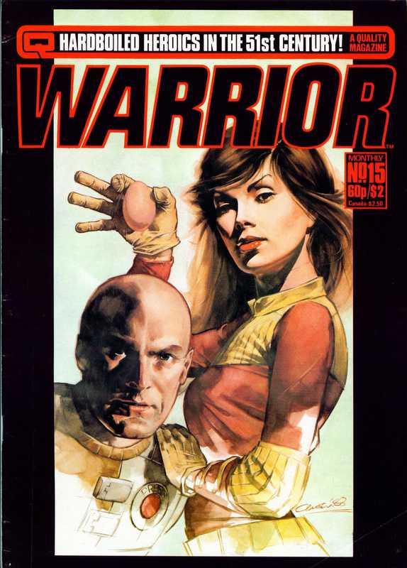 Couverture de Warrior (Quality comics - 1982) -15- Issue # 15