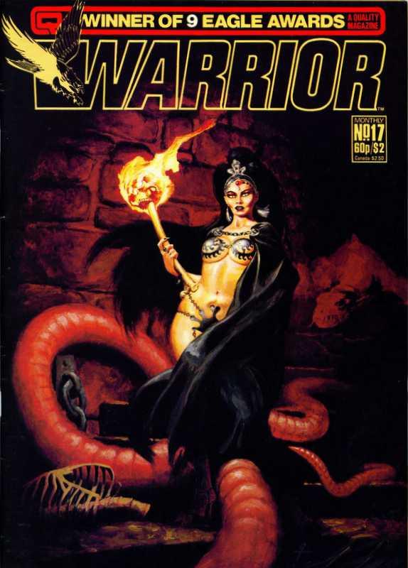 Couverture de Warrior (Quality comics - 1982) -17- Issue # 17