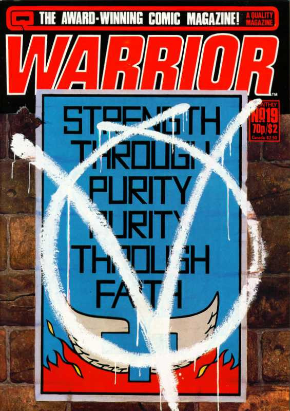 Couverture de Warrior (Quality comics - 1982) -19- Issue # 19