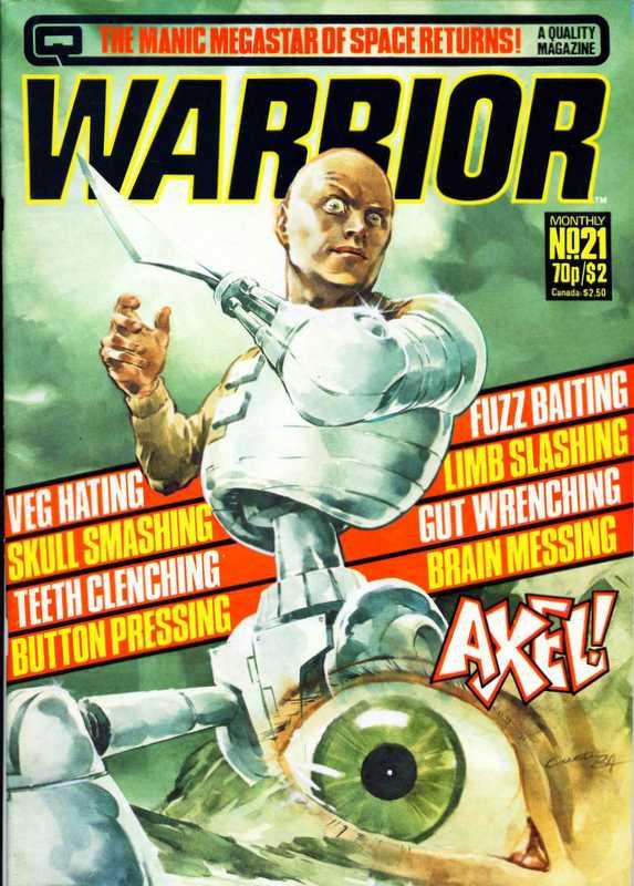 Couverture de Warrior (Quality comics - 1982) -21- Issue # 21