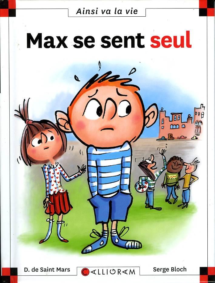 Couverture de Ainsi va la vie (Bloch) -123- Max se sent seul