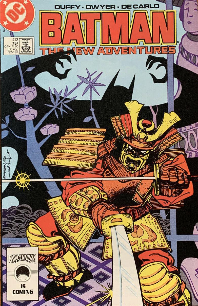 Couverture de Batman Vol.1 (DC Comics - 1940) -413- The Ghost of Masahiko Tahara