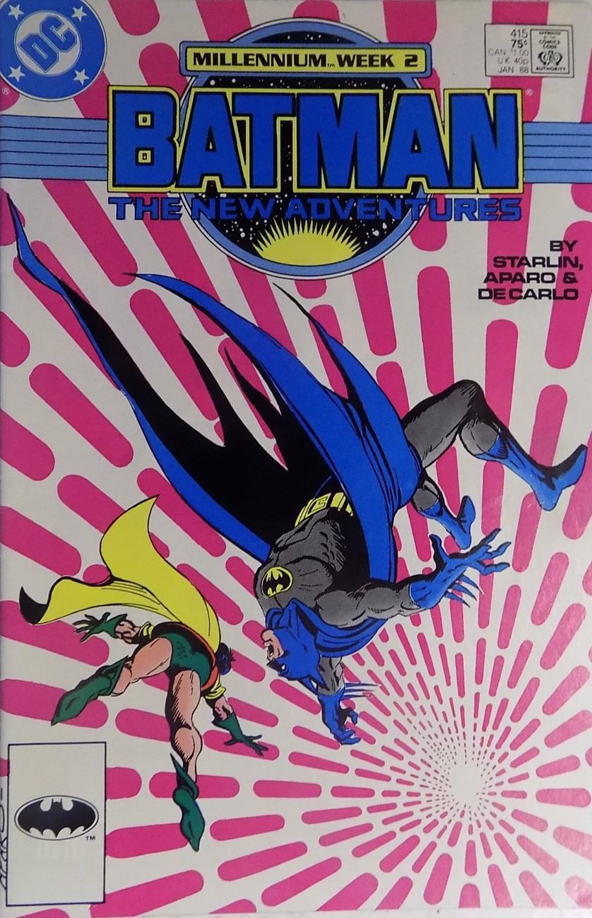Couverture de Batman Vol.1 (DC Comics - 1940) -415- Millennium