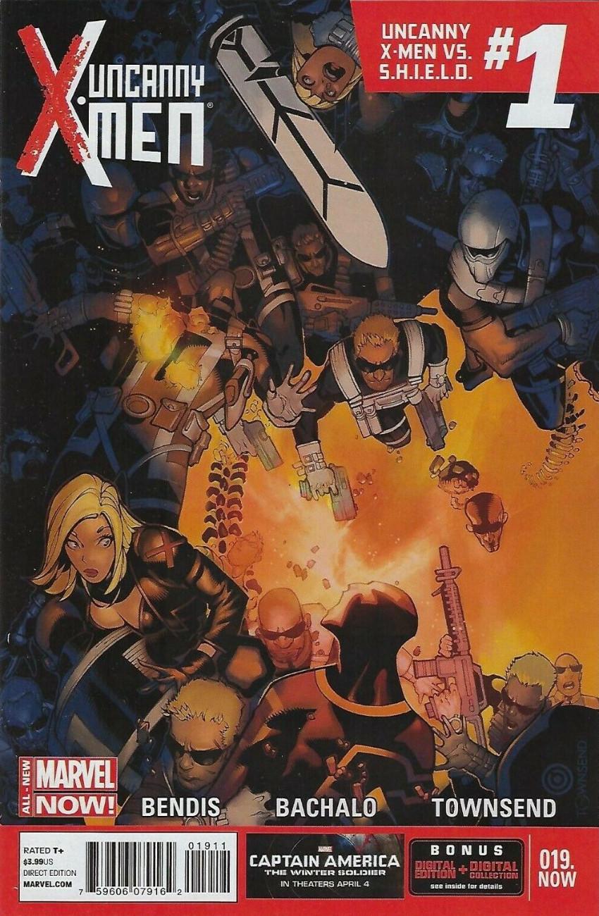 Couverture de Uncanny X-Men (2013) -19- Next stage in humankind