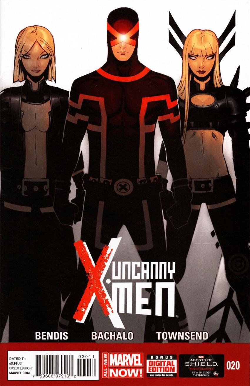 Couverture de Uncanny X-Men (2013) -20- SHIELD!