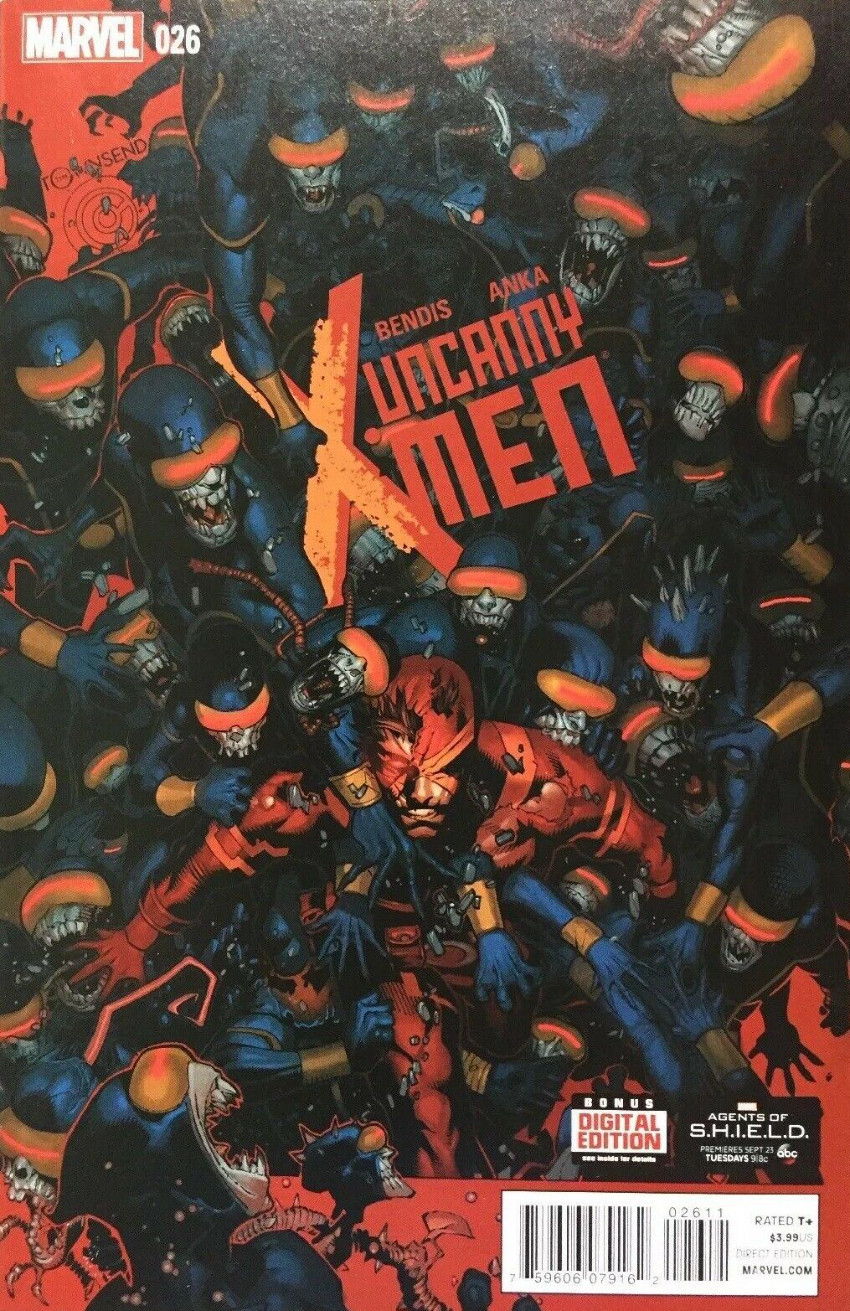 Couverture de Uncanny X-Men (2013) -26- Most wanted!