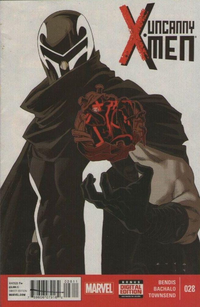 Couverture de Uncanny X-Men (2013) -28- Beware Magneto