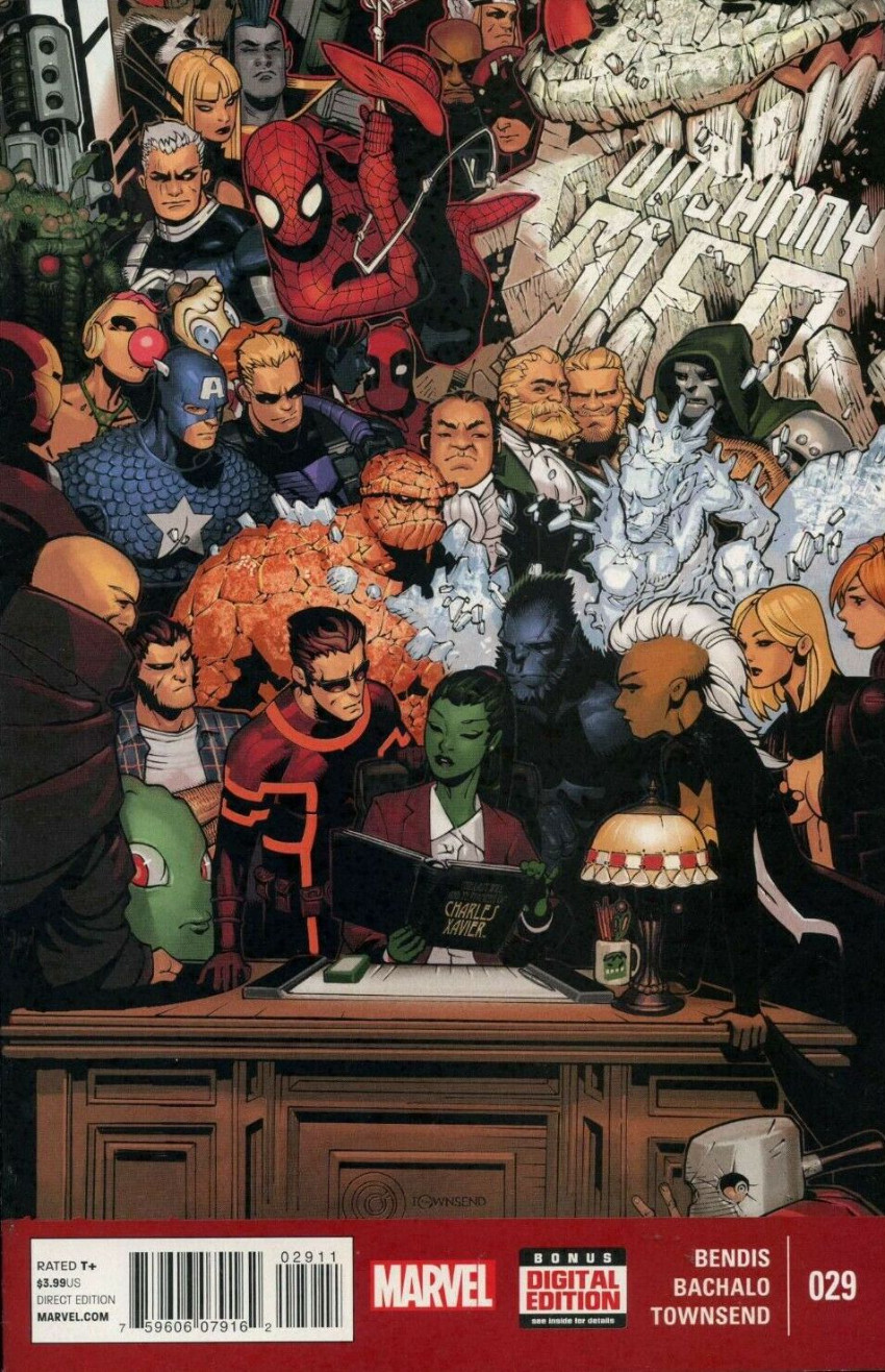 Couverture de Uncanny X-Men (2013) -29- Charles Xavier!