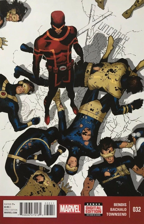 Couverture de Uncanny X-Men (2013) -32- Fateful leap