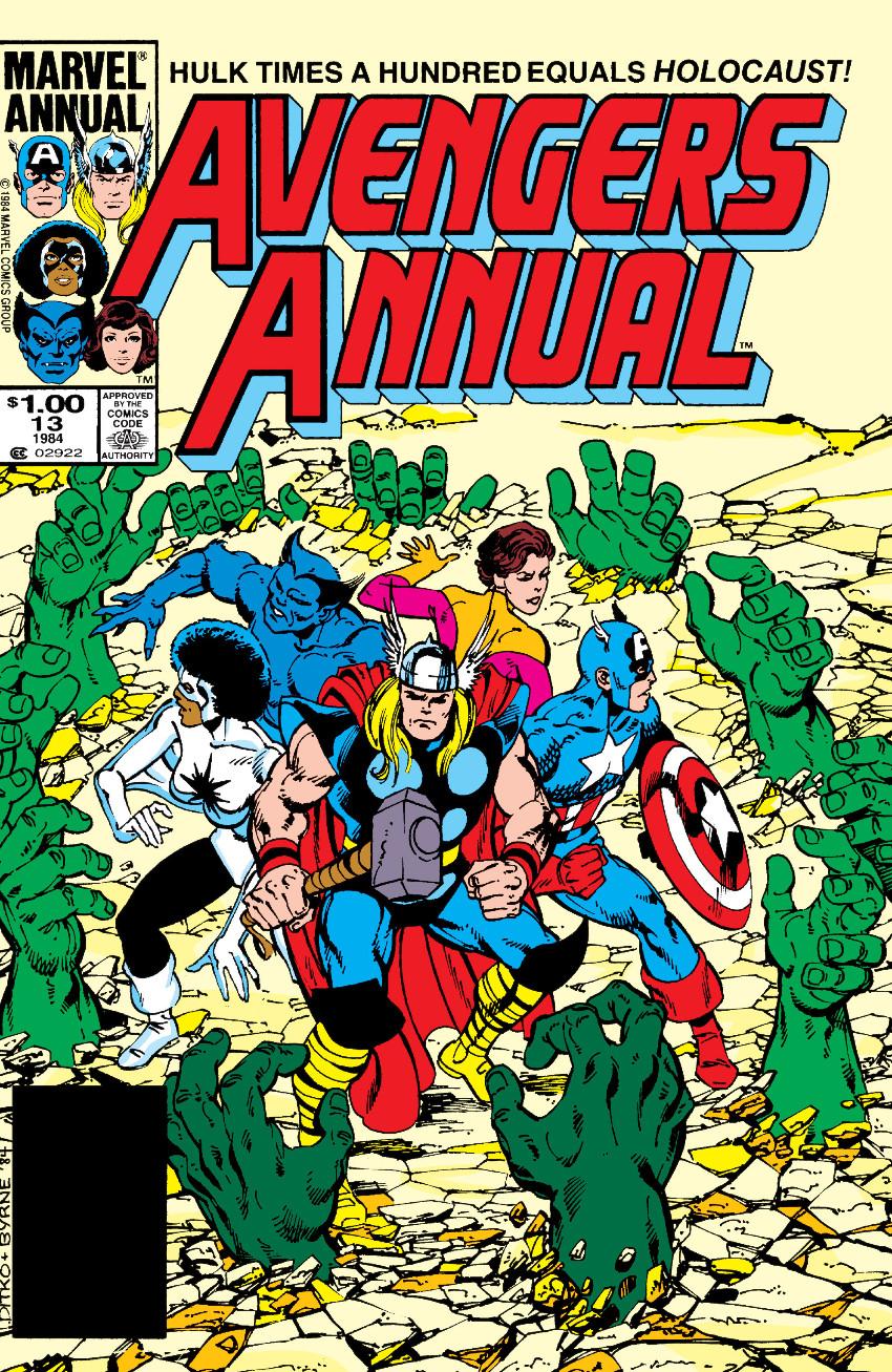 Couverture de Avengers Vol. 1 (Marvel Comics - 1963) -AN13- In Memory Yet Green!