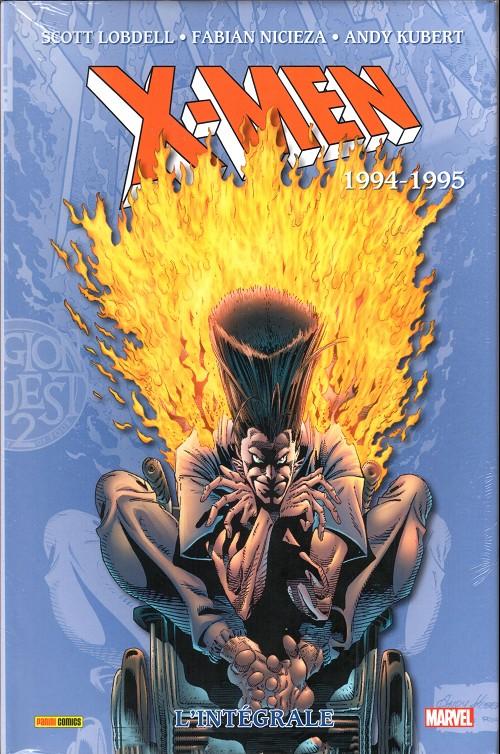 Couverture de X-Men (L'intégrale) -40- 1994-1995