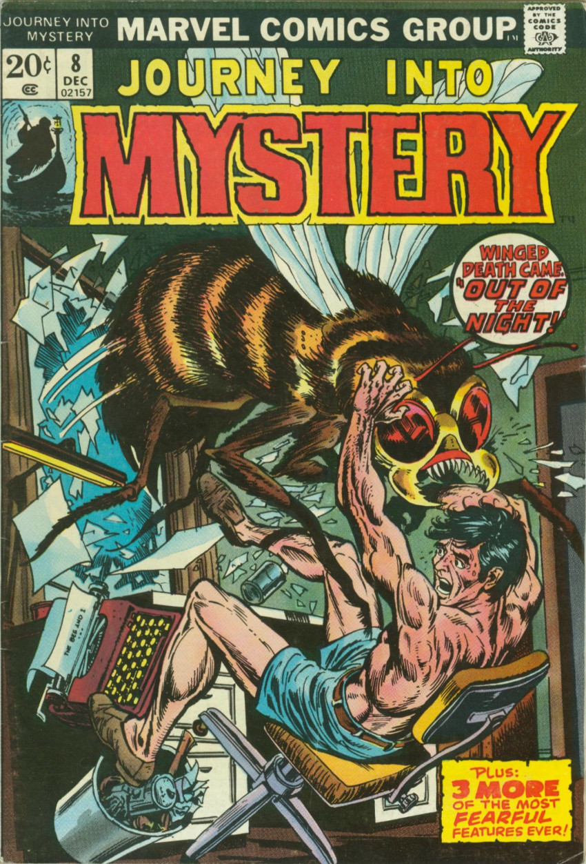 Couverture de Journey into Mystery Vol. 2 (Marvel - 1972) -8- Out of the Night!
