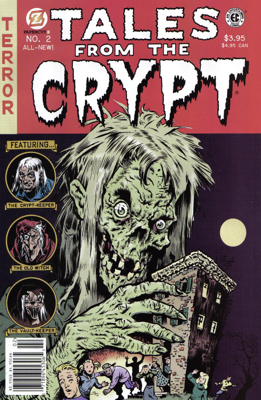 Couverture de Tales from the Crypt Vol. 2 (Papercutz - 2007) -2- Issue # 2