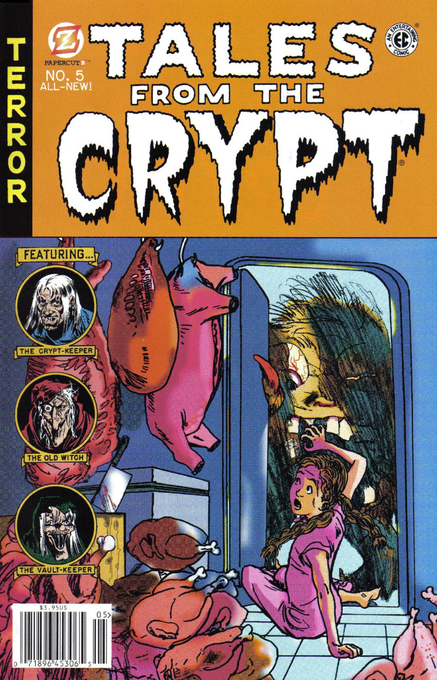 Couverture de Tales from the Crypt Vol. 2 (Papercutz - 2007) -5- Issue # 5