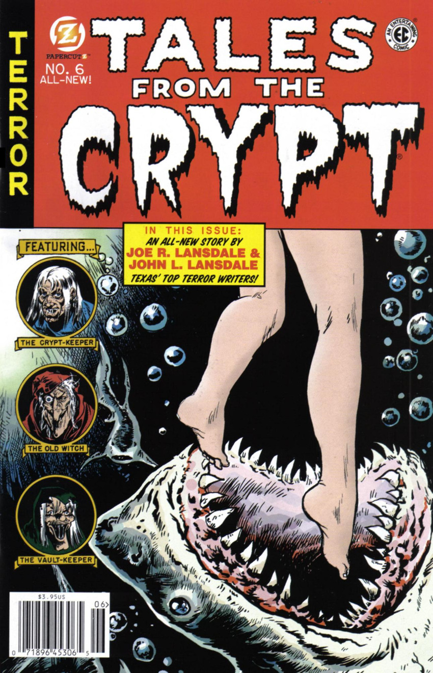 Couverture de Tales from the Crypt Vol. 2 (Papercutz - 2007) -6- Issue # 6