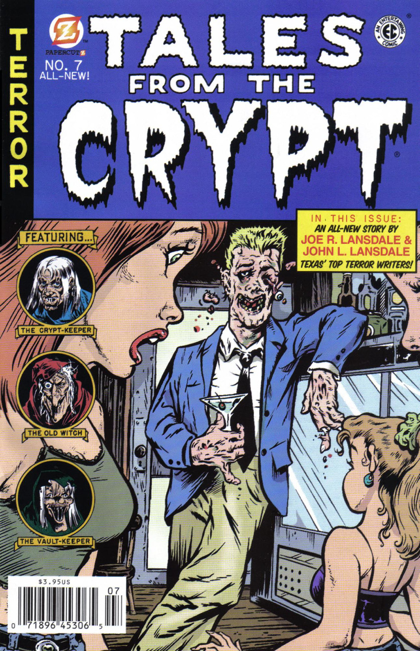 Couverture de Tales from the Crypt Vol. 2 (Papercutz - 2007) -7- Issue # 7