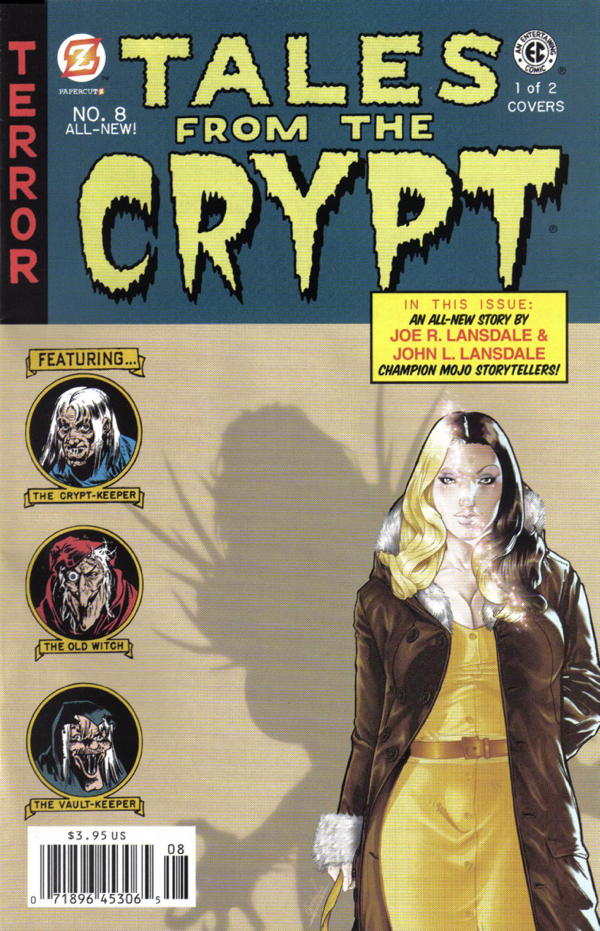 Couverture de Tales from the Crypt Vol. 2 (Papercutz - 2007) -8A- Issue # 8