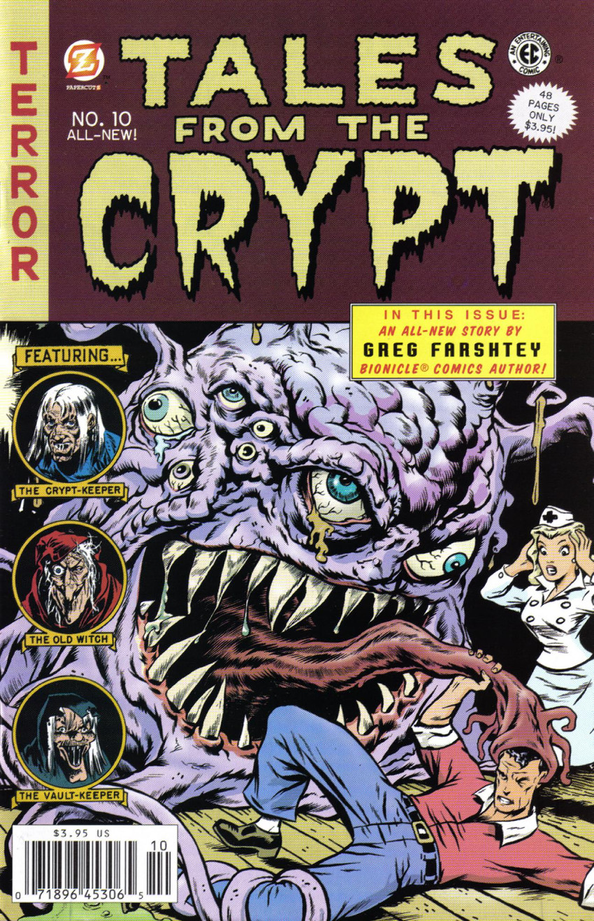 Couverture de Tales from the Crypt Vol. 2 (Papercutz - 2007) -10- Issue # 10