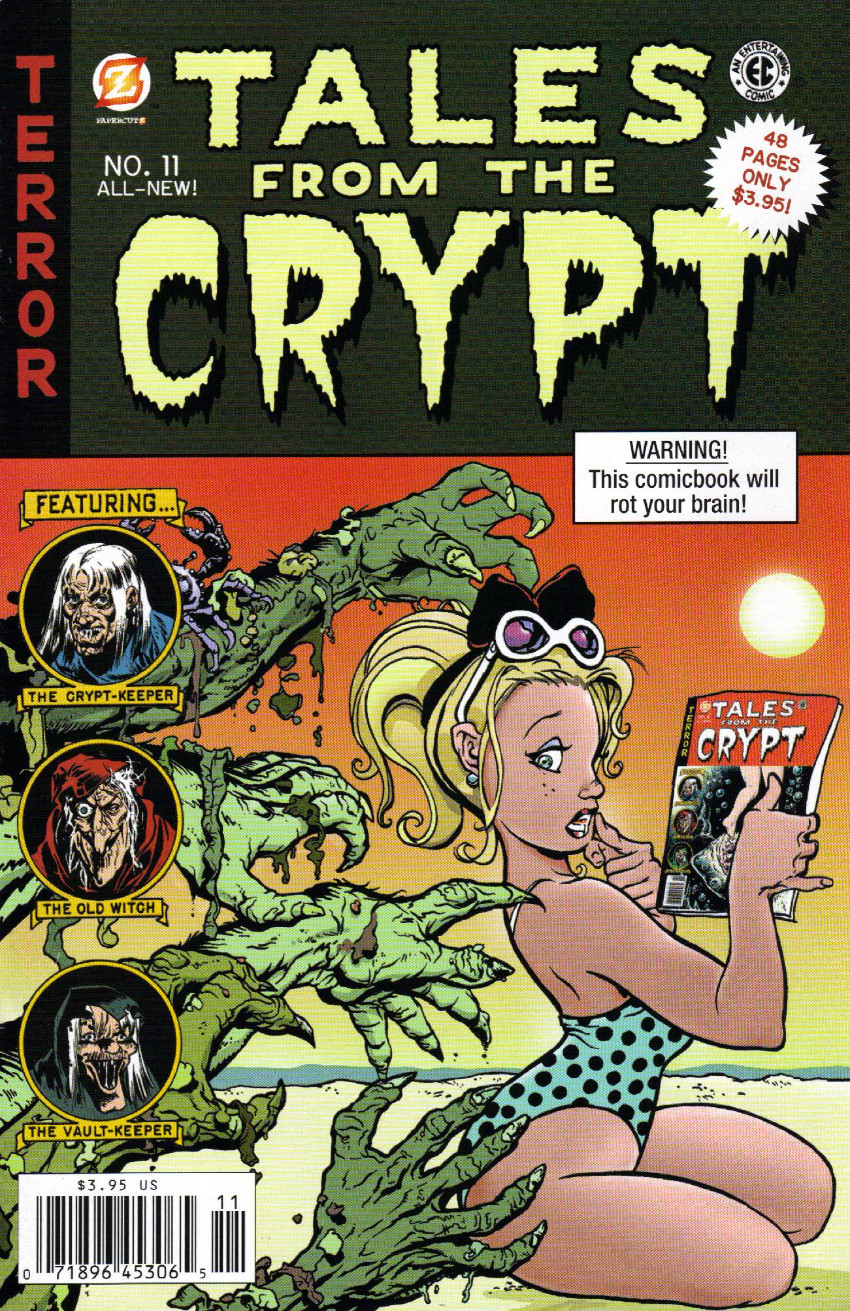 Couverture de Tales from the Crypt Vol. 2 (Papercutz - 2007) -11- Issue # 11