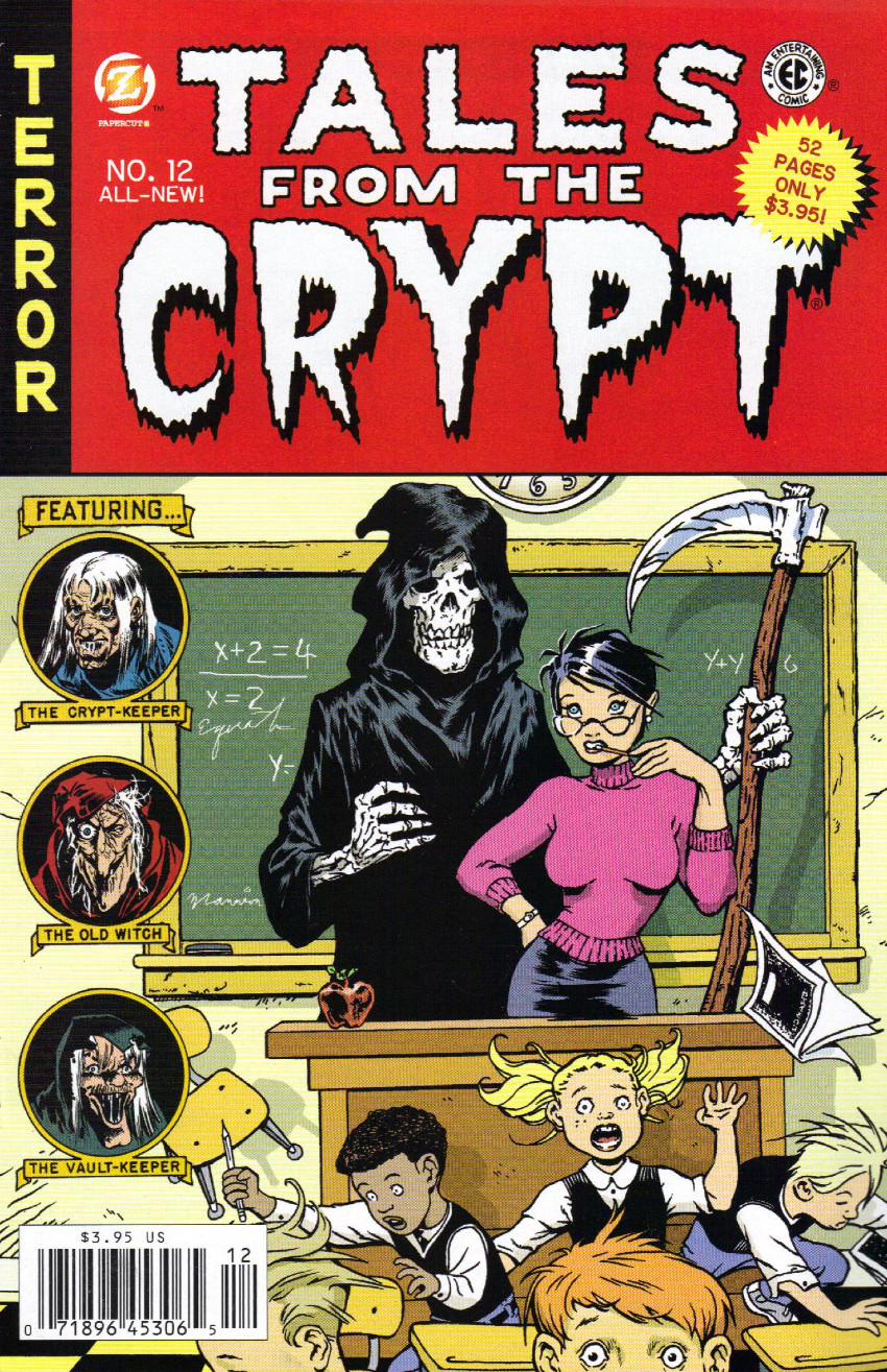 Couverture de Tales from the Crypt Vol. 2 (Papercutz - 2007) -12- Issue # 12