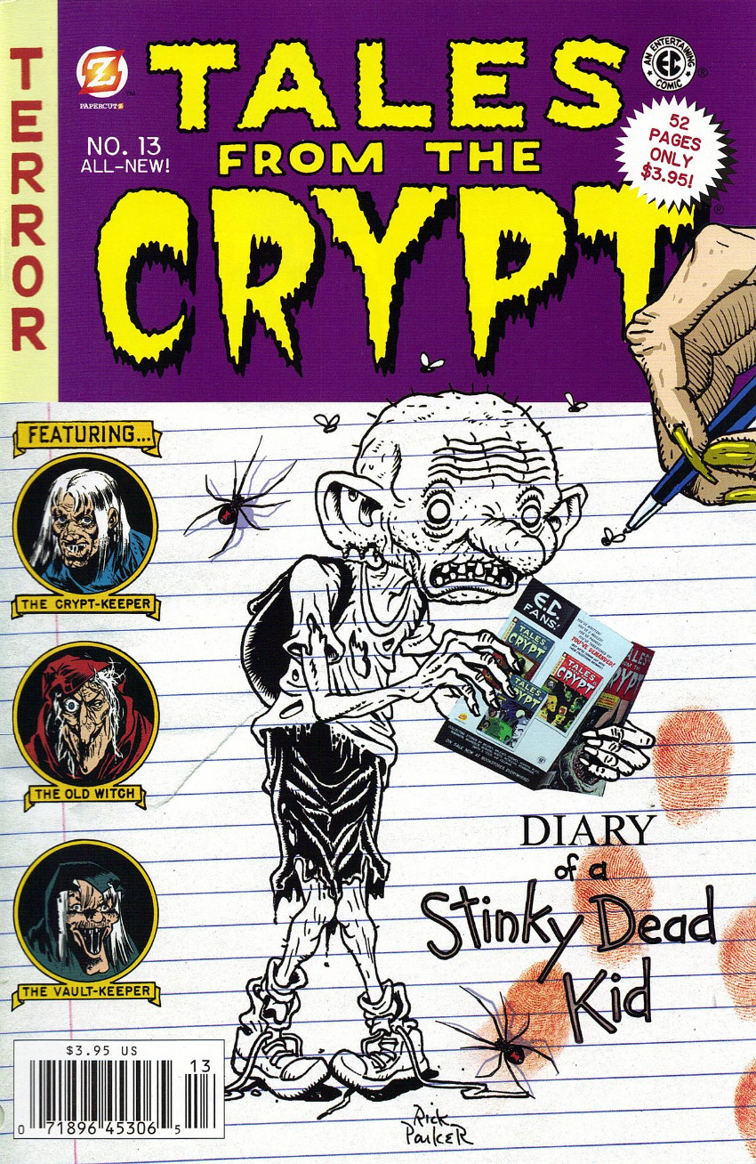 Couverture de Tales from the Crypt Vol. 2 (Papercutz - 2007) -13- Issue # 13