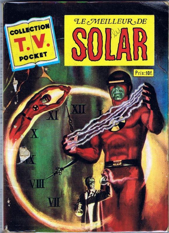 Couverture de TV pocket (Collection ) (Sagedition) -6- Le meilleur de Solar