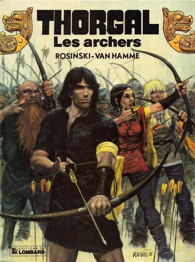 Couverture de Thorgal -9- Les archers