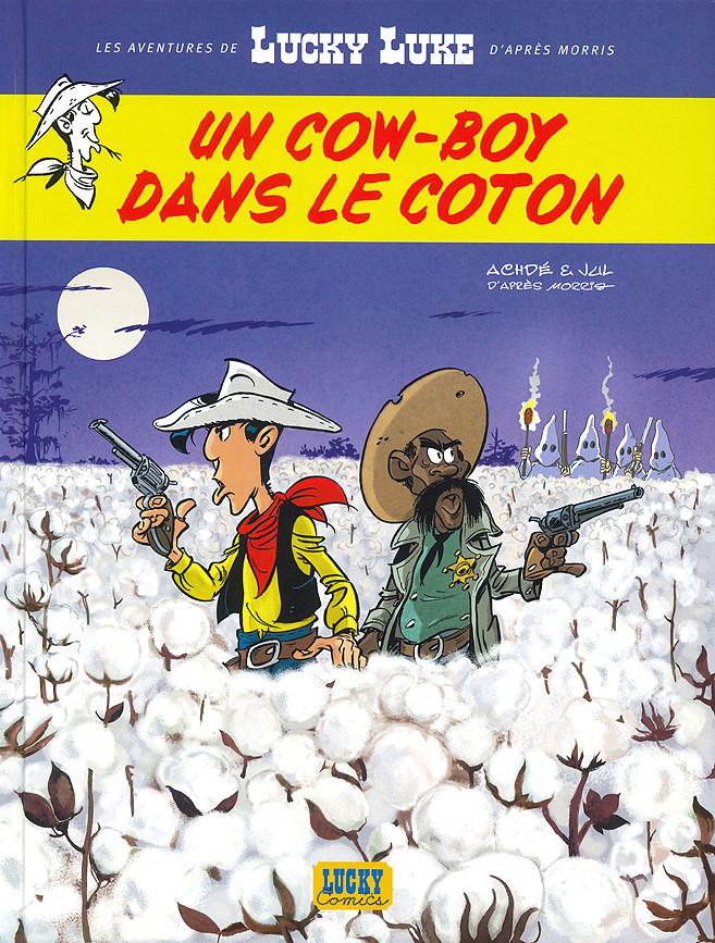 Couverture de Lucky Luke (Les aventures de) -9- Un cow-boy dans le coton