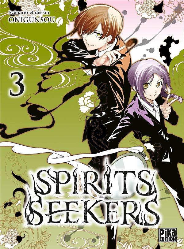 Couverture de Spirits seekers -3- Tome 3