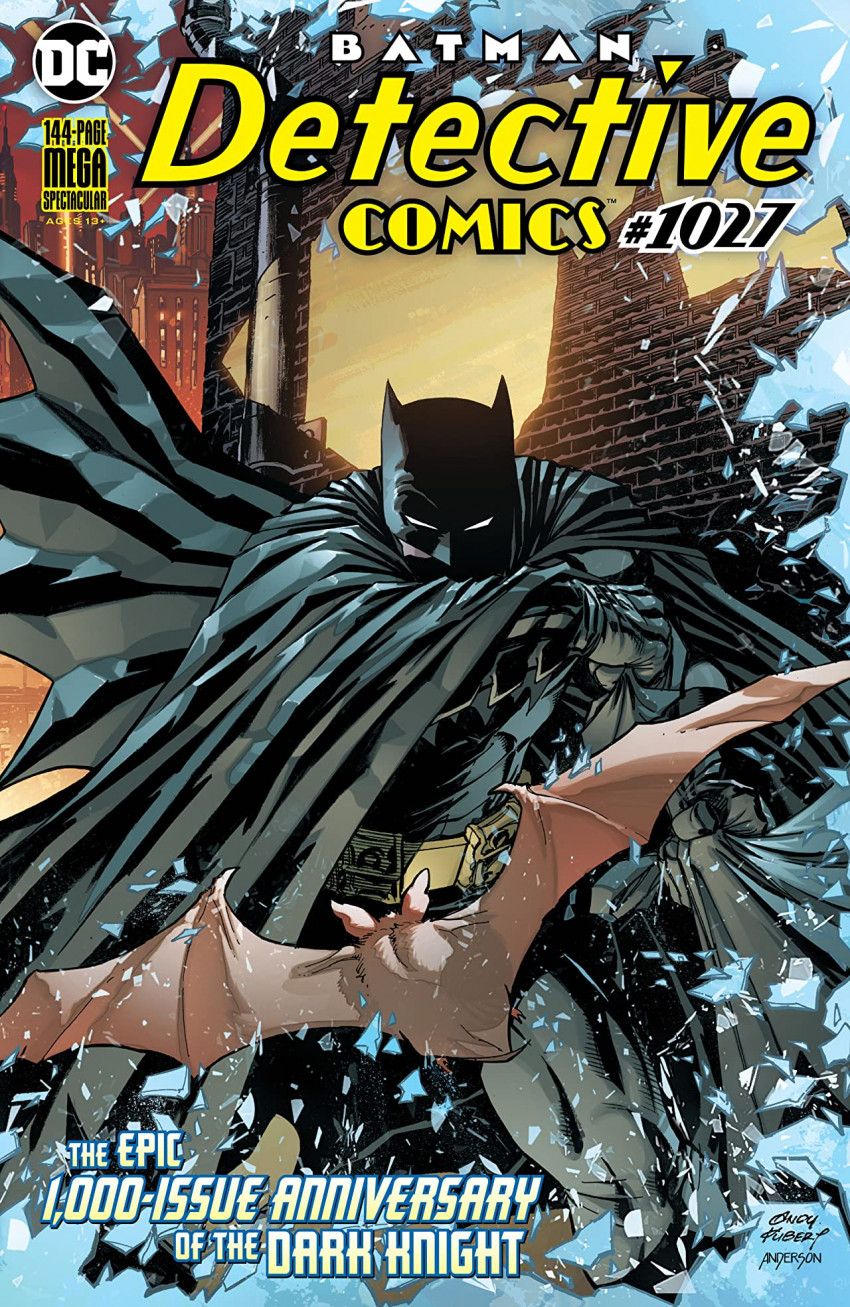 Couverture de Detective Comics (1937), Période Rebirth (2016) -1027- 1000th anniversary Batman