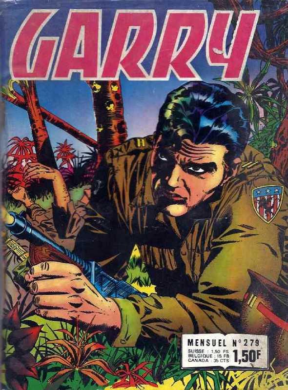 Couverture de Garry (Impéria) (2e série - 190 à 456) -279- Le trésor des malais