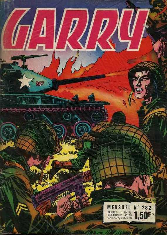 Couverture de Garry (Impéria) (2e série - 190 à 456) -282- La vraie gloire