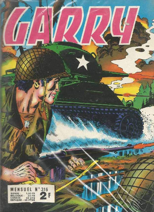 Couverture de Garry (Impéria) (2e série - 190 à 456) -316- Fleuve noir