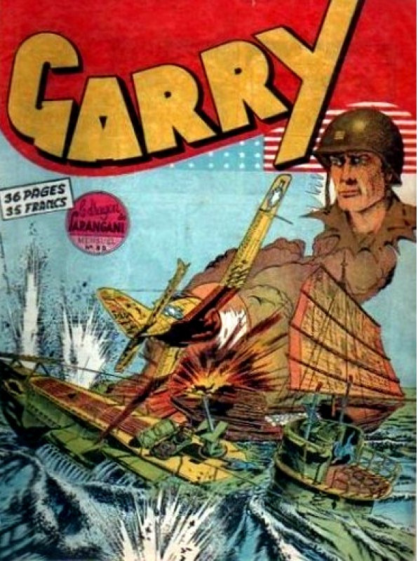 Couverture de Garry (sergent) (Imperia) (1re série grand format - 1 à 189) -39- Le Dragon de Sarangani