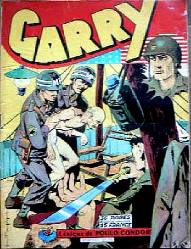 Couverture de Garry (sergent) (Imperia) (1re série grand format - 1 à 189) -51- L'énigme de Poulo Condor