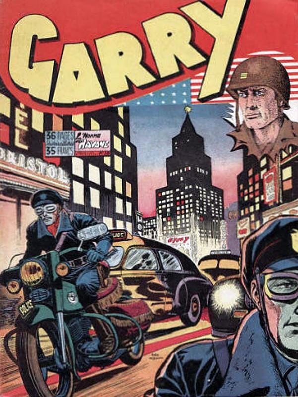 Couverture de Garry (sergent) (Imperia) (1re série grand format - 1 à 189) -58- L'homme au Havane