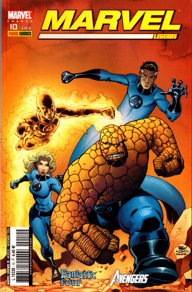 Couverture de Marvel Legends -10- L'au-delà (2)