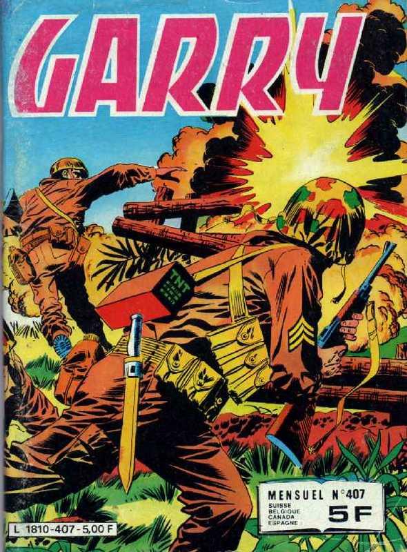 Couverture de Garry (Impéria) (2e série - 190 à 456) -407- L'enfer de Paluan
