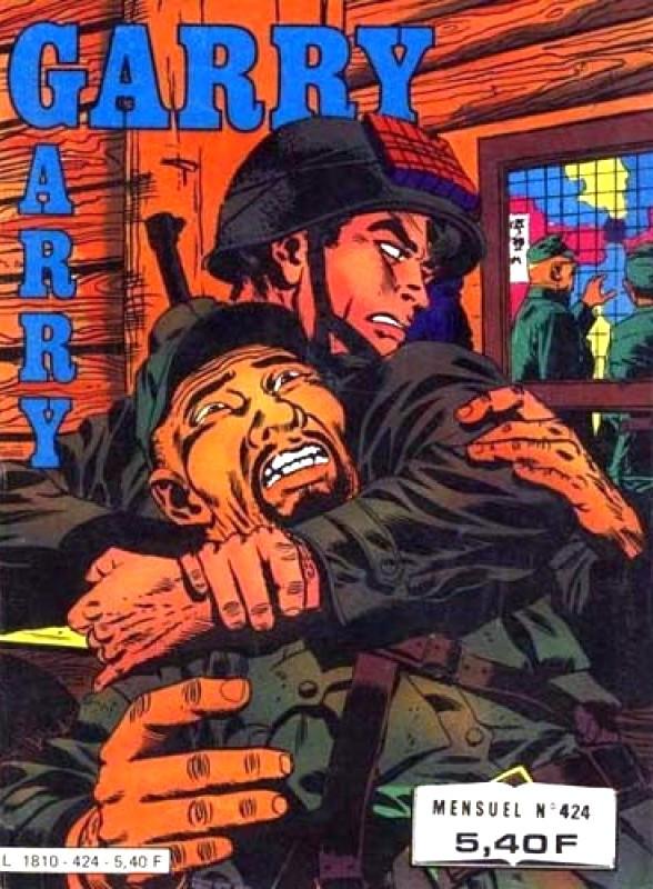 Couverture de Garry (Impéria) (2e série - 190 à 456) -424- La rage au cœur