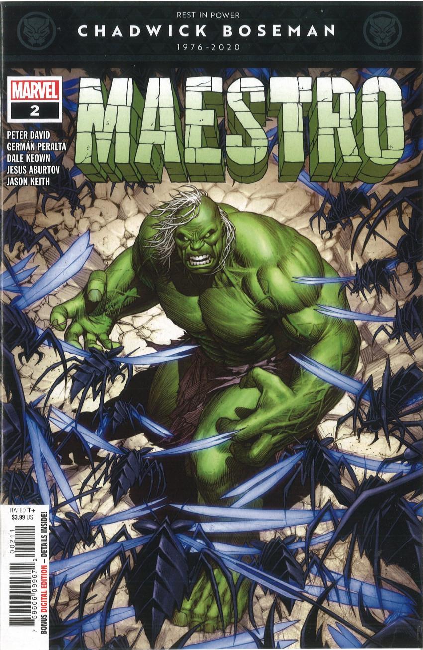 Couverture de Maestro (Marvel comics - 2020) -2- Symphony in a Gamma Key - Part One: Sonata
