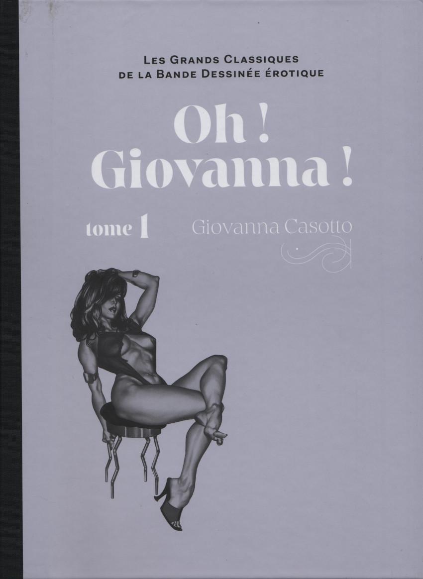 Couverture de Les grands Classiques de la Bande Dessinée érotique - La Collection -114119- Oh ! Giovanna ! - tome 1