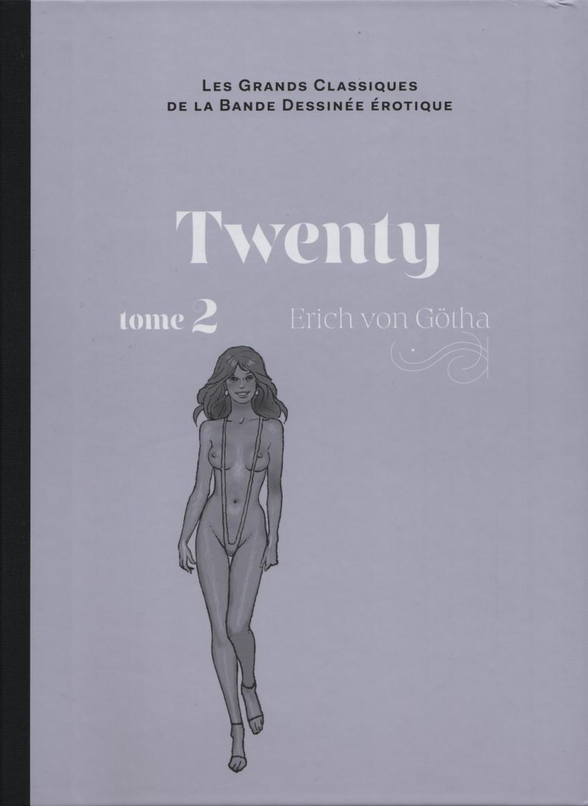 Couverture de Les grands Classiques de la Bande Dessinée érotique - La Collection -115110- Twenty - tome 2