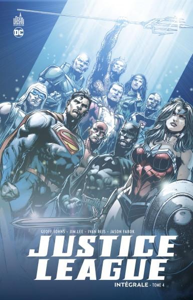 Couverture de Justice League (DC Renaissance) -INT4- Intégrale - Tome 4
