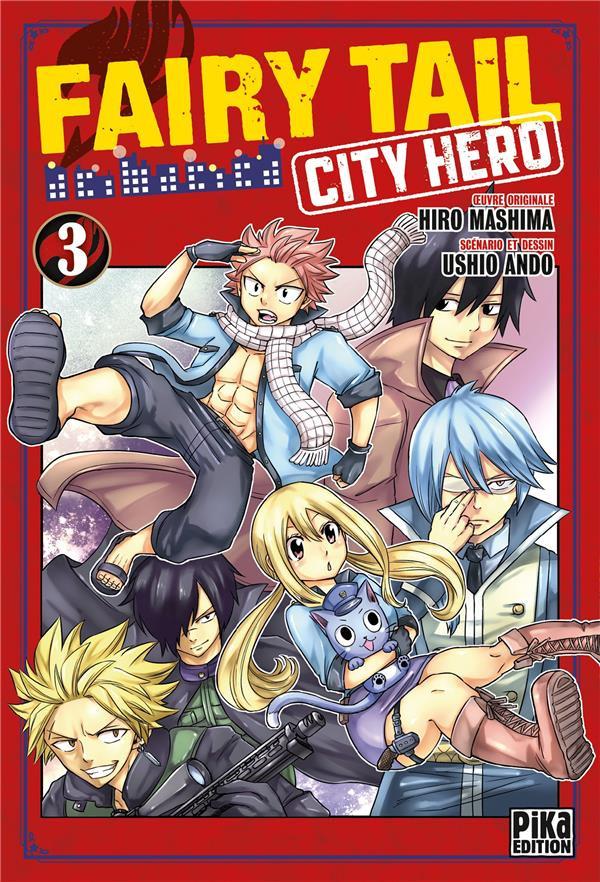 Couverture de Fairy Tail - City Hero -3- Tome 3