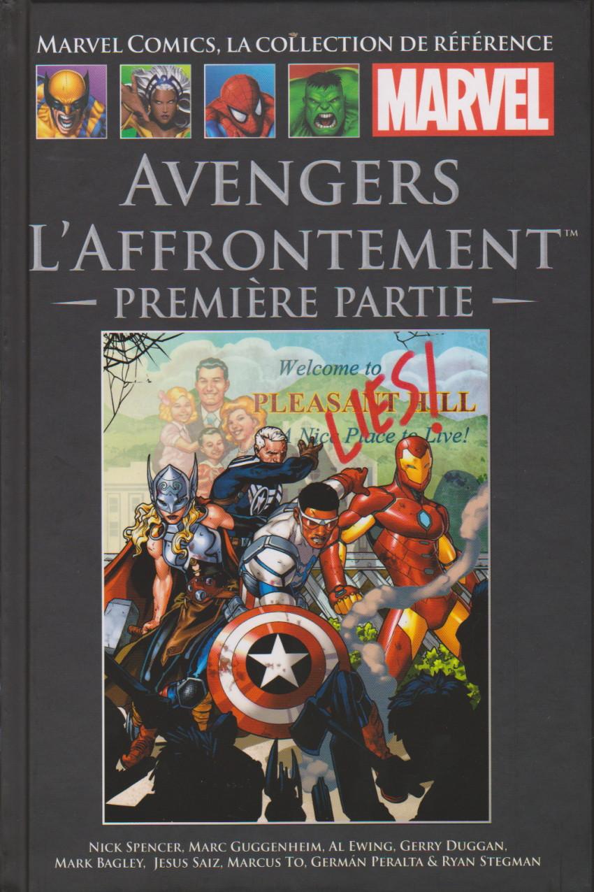 Couverture de Marvel Comics - La collection (Hachette) -166129- Avengers l'Affrontement : Première Partie
