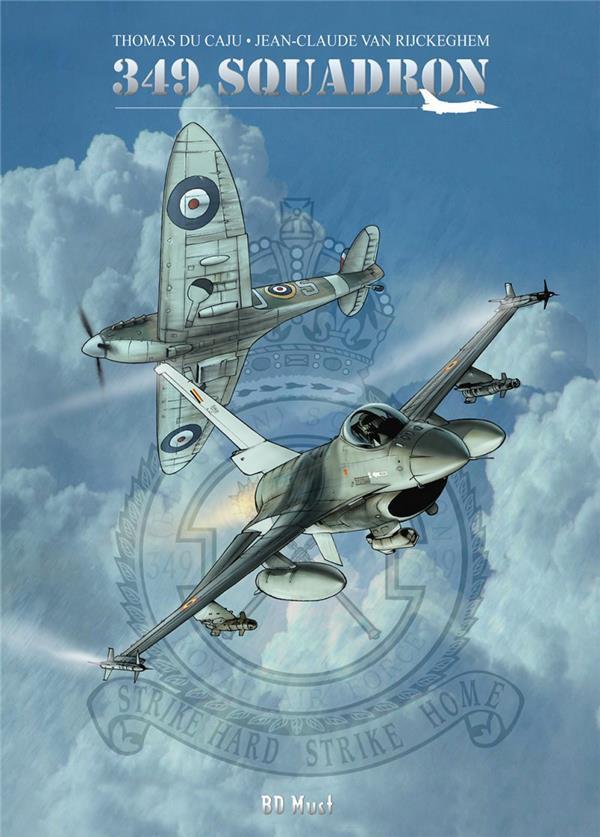 Couverture de 349 squadron - 349 Squadron