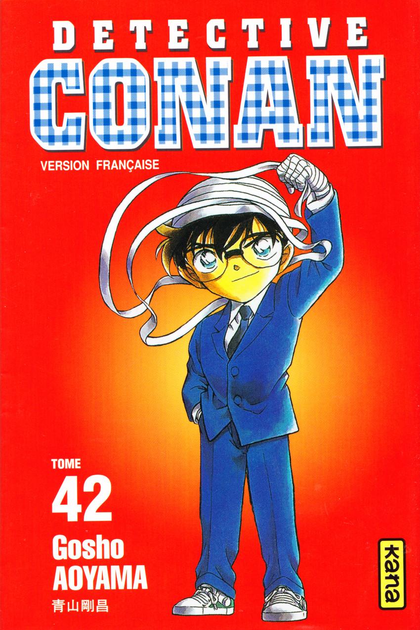 Couverture de Détective Conan -42- Tome 42
